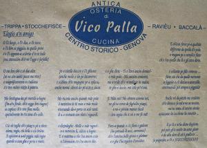 Osteria di vico palla genova papilleclandestine for Cucina arredi genova